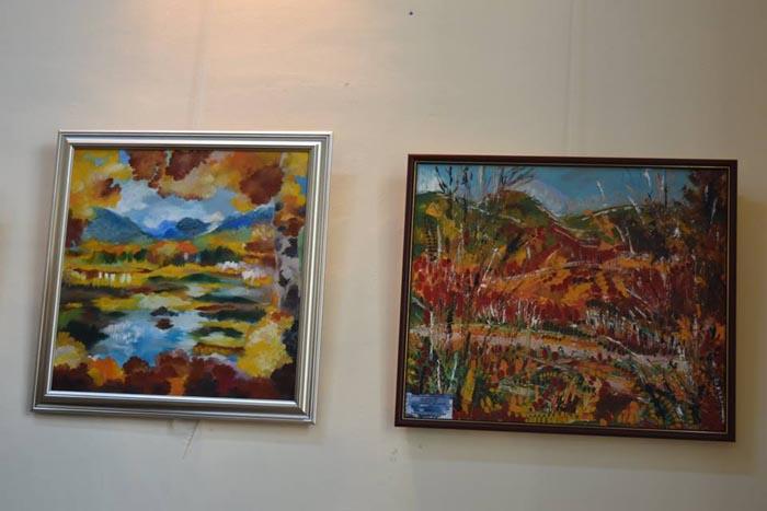 Lume multă la expoziția artistei Cristina Moldovan