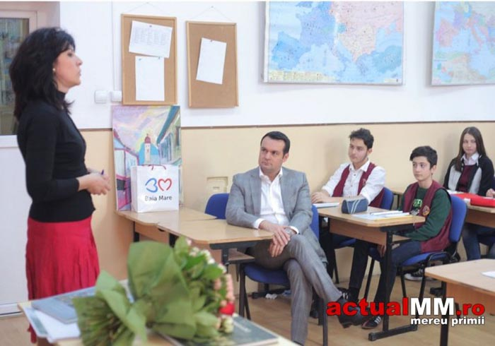 Lecții de istorie locală într-o școală din Baia Mare