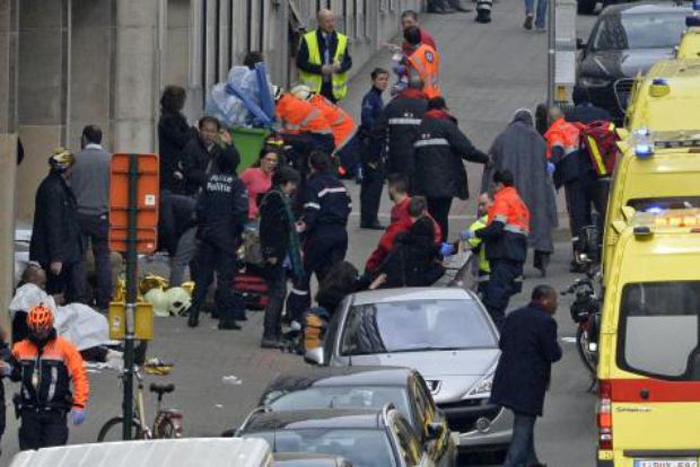Bilanț provizoriu de la Bruxelles: Cel puțin 34 de morți