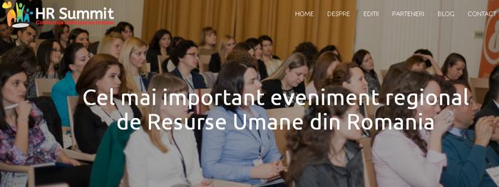 HR Summit Cluj-Napoca: Acolo unde experienţa profesională întâlneşte pasiunea