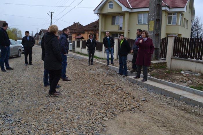 """Aurelia Fedorca: """"Am reînceput lucrările de modernizare a străzilor din Negrești-Oaș"""""""