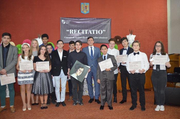 """Vezi laureații Concursului """"Recitatio"""", ediția a X-a"""