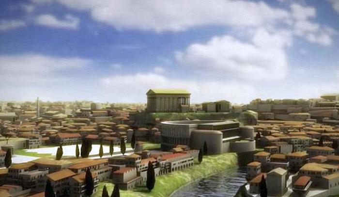 Cum arăta cu adevărat Roma antică ? (Foto&Video)