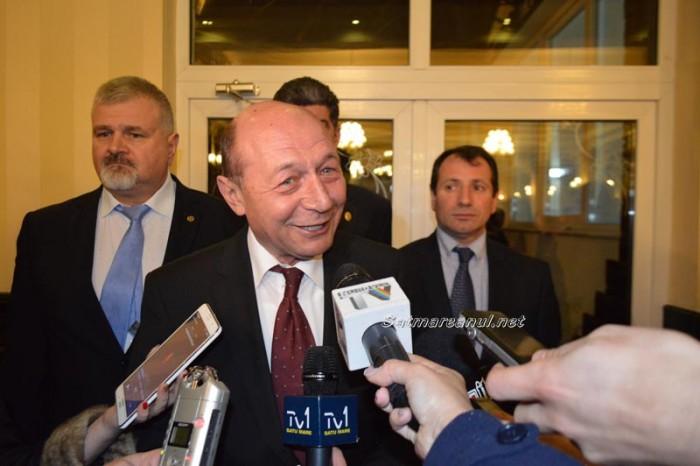 """Traian Băsescu despre șansele MP în alegeri: """"nu cred că vom sta foarte bine nici în Satu Mare"""""""