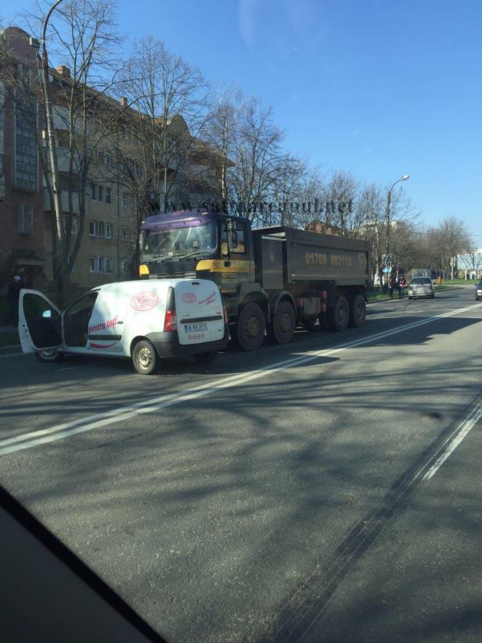 Accident pe strada Botizului din Satu Mare (Foto)