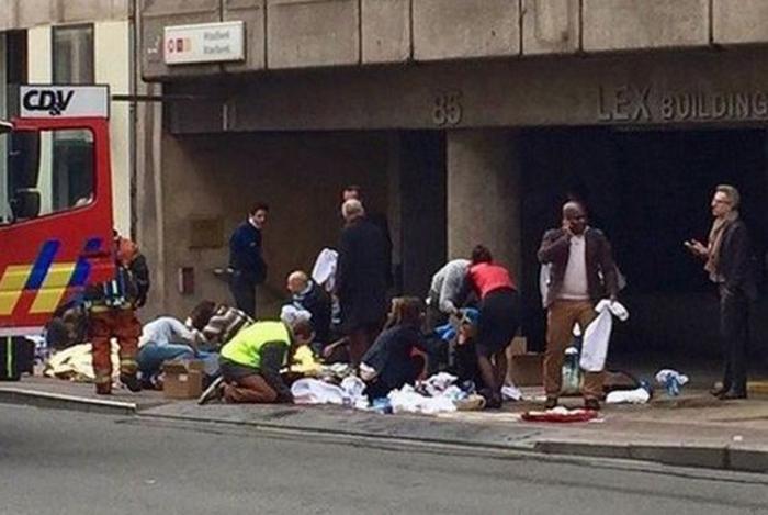Trei români răniți în atentatele de la Bruxelles
