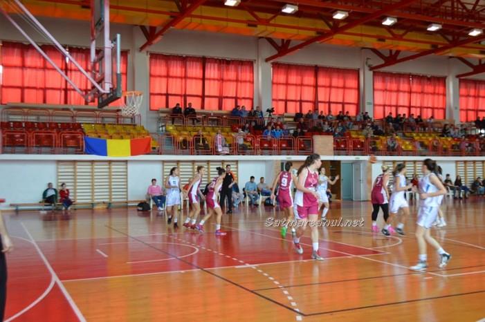 Baschet: CSM Satu Mare-CS Rapid București 30-90