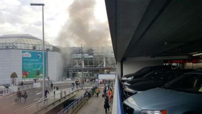 Explozii pe aeroportul din Bruxelles: 11 morţi şi 25 de răniţi