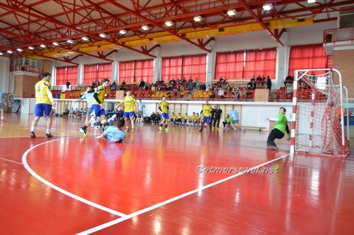 Handbal: CSM Satu Mare-CNOT Brașov 29-29 (Foto&Video)