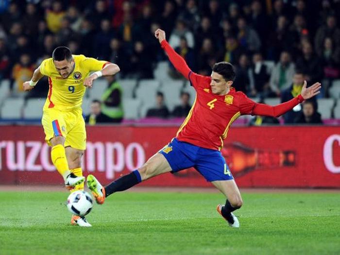 România a remizat cu Spania pe Cluj Arena