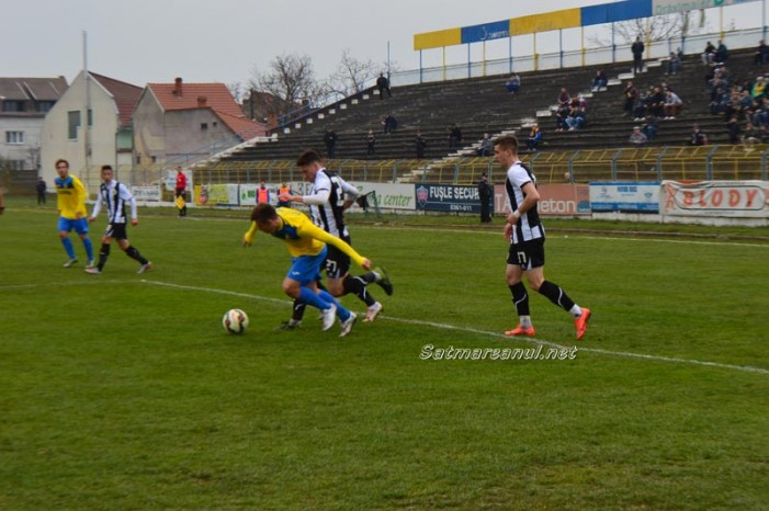 Fotbal: Olimpia – U Cluj 2-3 (Foto)