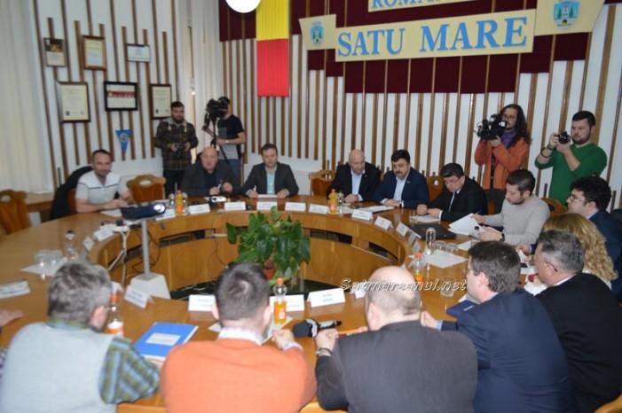 Ședință fulger la Consiliul Local Satu Mare