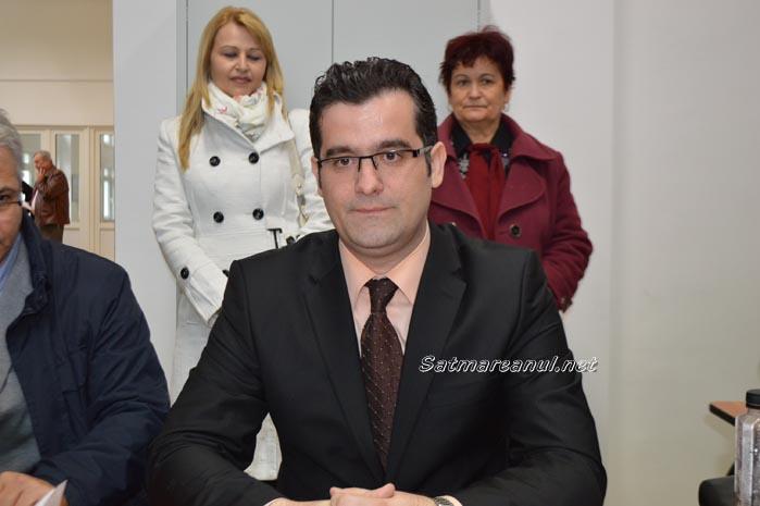 Adelin Ghiarfaș și-a depus candidatura la Primăria Satu Mare (Foto)