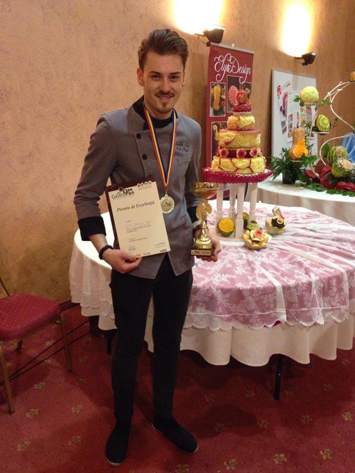 """Sătmăreanul Adrian Râpa, premiu de excelență la """"GastroPan"""""""