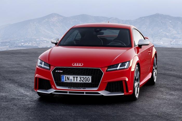Vezi cum arată noul Audi TT-RS (Galerie foto)