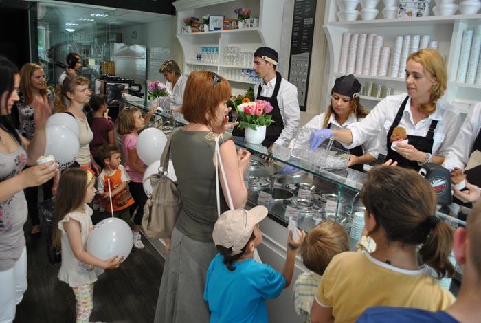 Bianco Milano deschide o gelaterie la Oradea