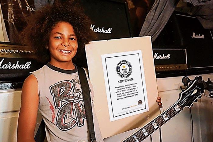 Brandon Bailey Johnson – Cel mai tânăr producător muzical profesionist
