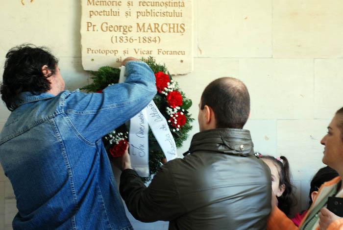 La Carei s-au marcat 180 de ani de la nașterea preotului George Marchiș