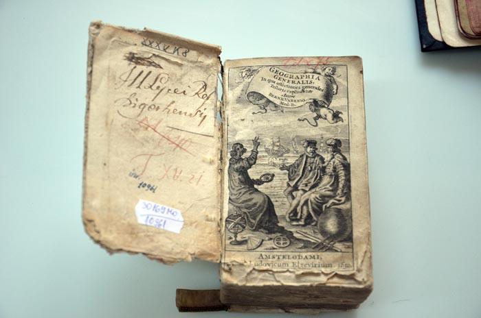 Expoziție de carte veche la Castelul din Carei (foto)