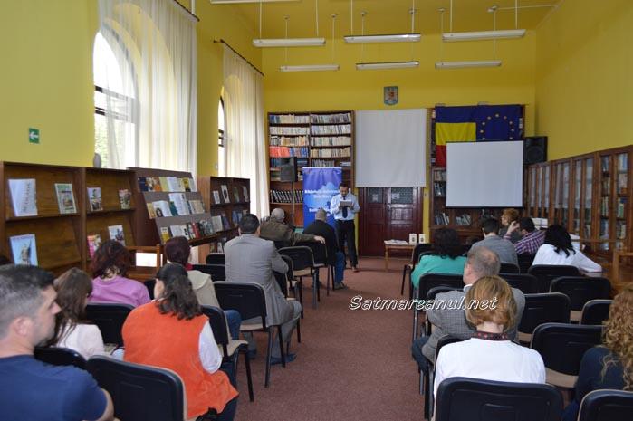 Emil Cioran, omagiat la Biblioteca Județeană