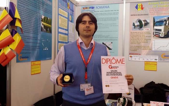 Inginer român, medaliat cu aur la Salonul de invenții de la Geneva