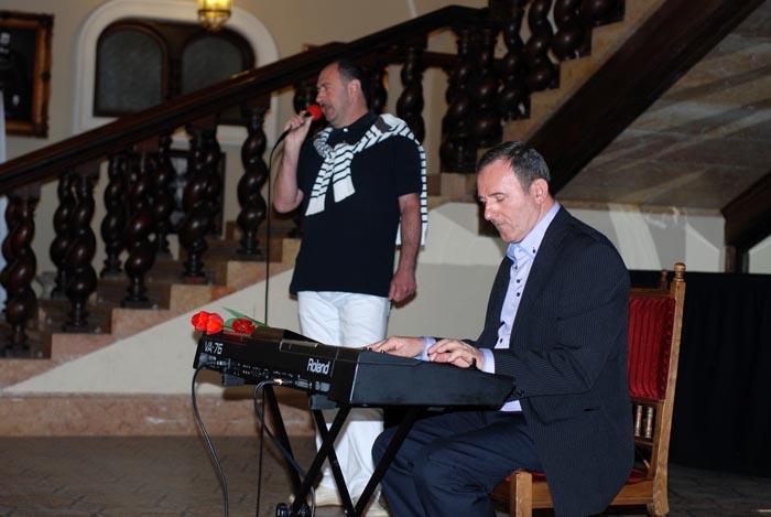 Concert Gheorghe Iovu la Castelul din Carei