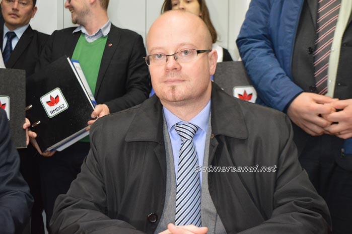Kereskenyi Gabor și-a depus candidatura pentru funcția de primar (Foto)