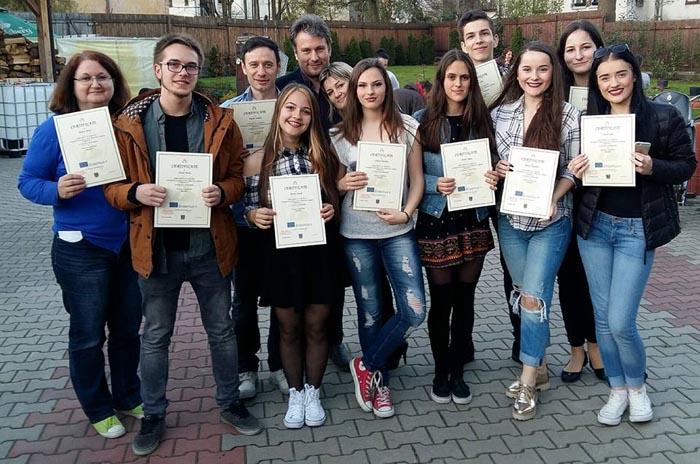Elevi de la liceul German, în vizită în Polonia