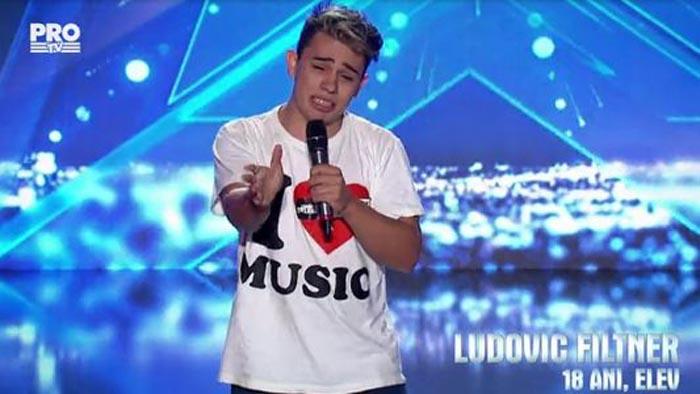 """Sătmăreanul Ludovic Filtner, patru de """"DA"""" la """"Românii au talent"""""""