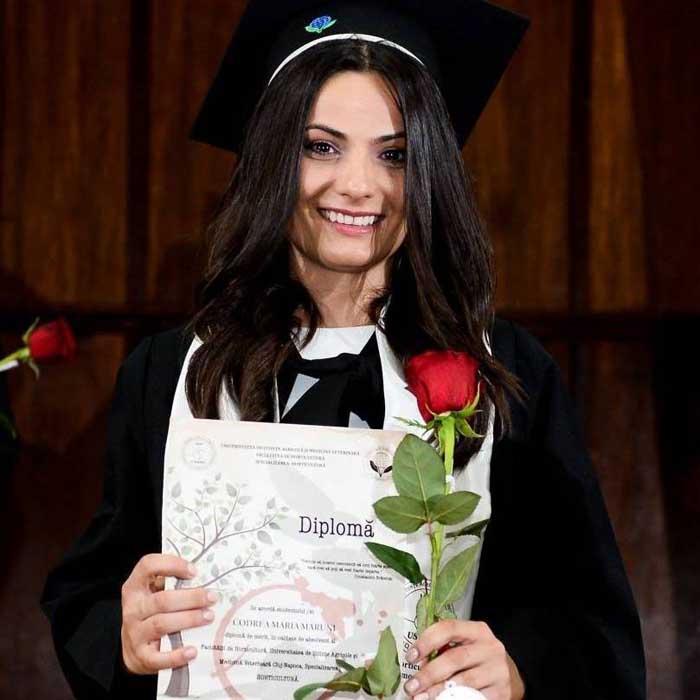 Sătmăreanca Maria Codrea, premiată la Gala Studenților din România