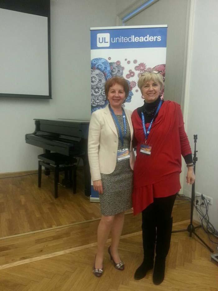 Sătmăreanca Mariana Savin, felicitată de consulul României la Viena