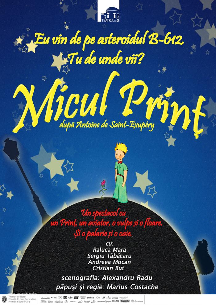 """""""Micul print"""", un spectacol pentru copii și oameni mari"""