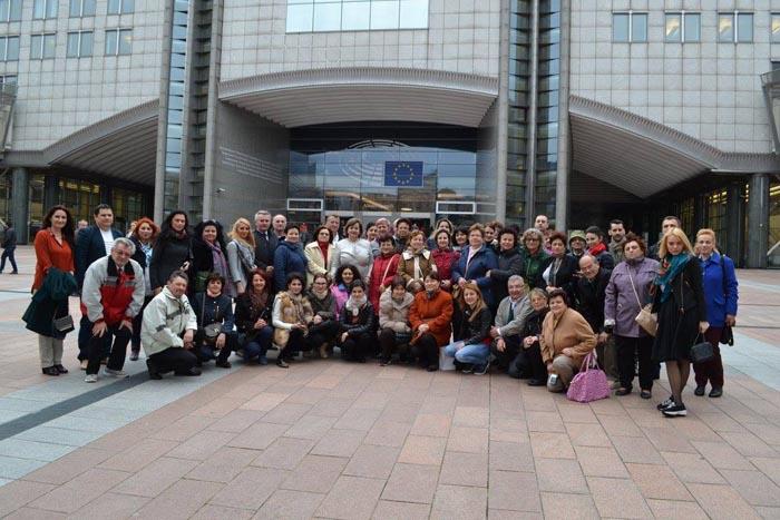 Aurelia Fedorca, împreună cu 50 de dascăli negreșteni, în vizită la Bruxelles