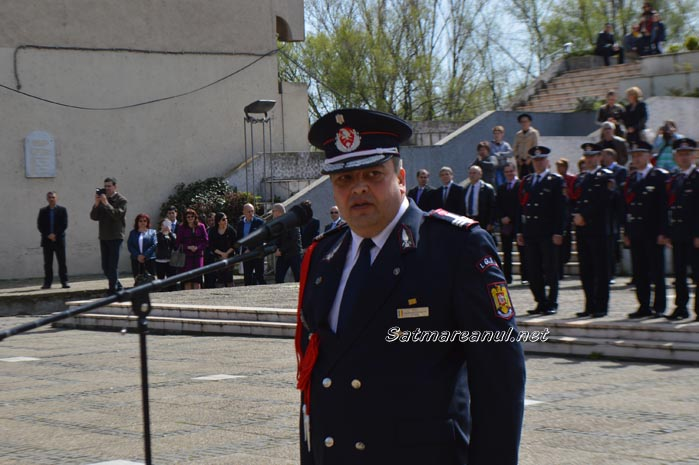 """Nicolae Dima este noul șef al ISU """"Someș"""" Satu Mare (Galerie Foto&Video)"""