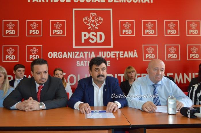 PSD Satu Mare și-a prezentat lista de candidați la Consiliul Local