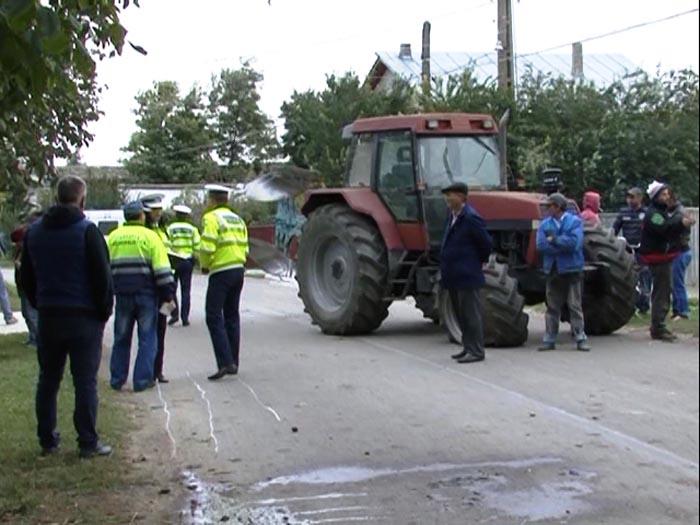 Accident cu un rănit în orașul Ardud