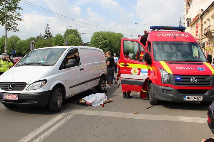 Accident mortal lângă Casa de Modă (Foto)