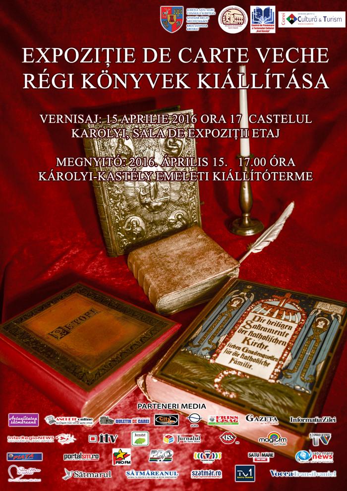 Expoziție de carte veche la Castelul Karolyi