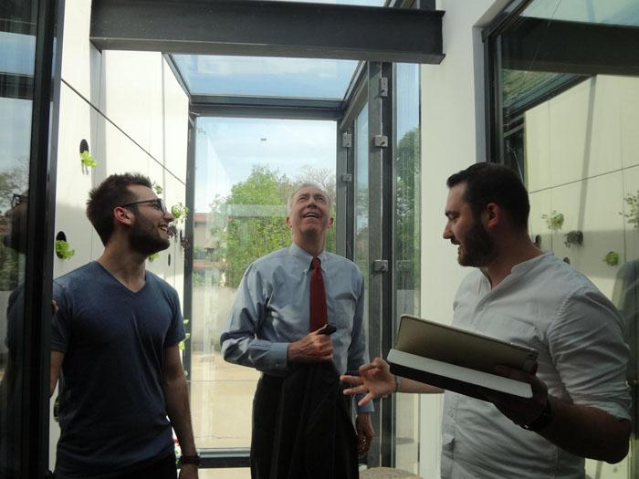 Ambasadorul SUA în România, Hans Klemm, impresionat de ingineria românească
