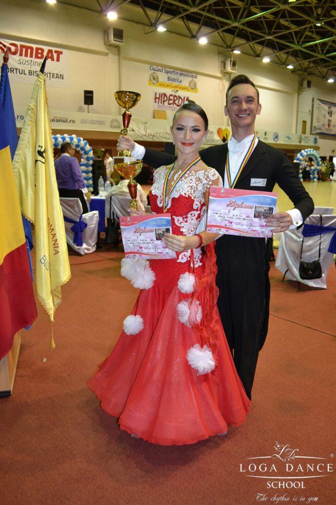 """Patru locuri de podium pentru Loga Dance School la Cupa """"Floris"""" din Bistrița (Video)"""