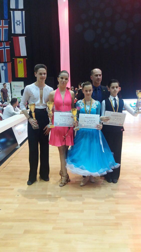 "Trei medalii pentru ""Royal Dance Club"" la ""Timișoara Open Championship"" (Foto)"