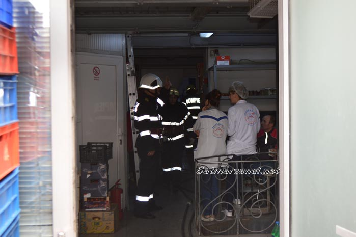 Incendiu la Unicarmul din centru (Galerie Foto&Video)