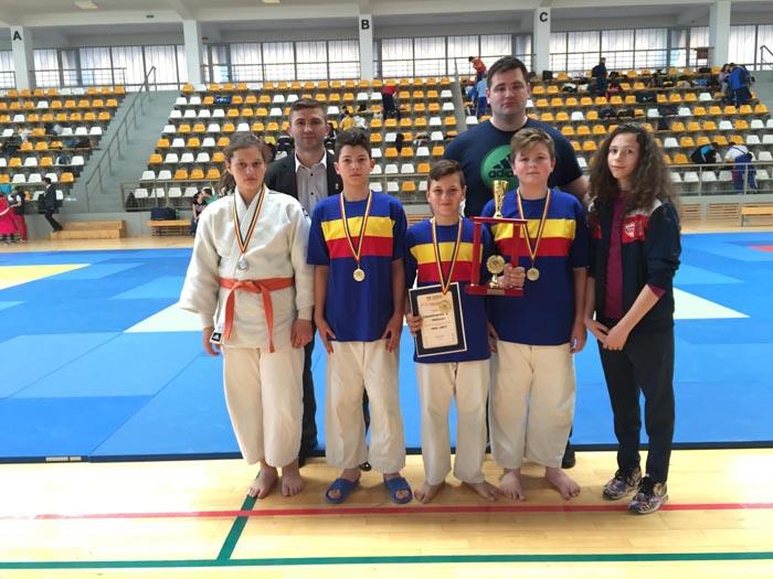 Rezultate bune pentru Fușle Security la Campionatului Național de Judo U-14