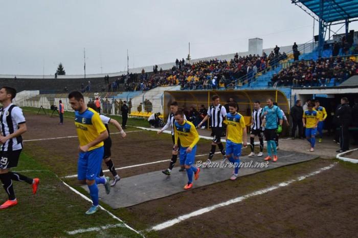 Fotbal: Olimpia Satu Mare-Universitatea Cluj