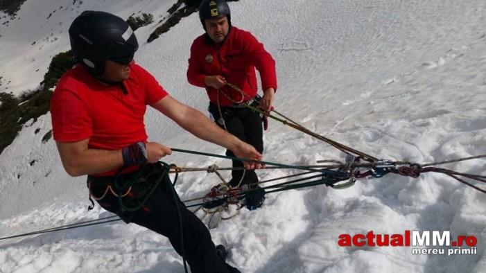 Salvamontiștii sătmăreni s-au antrenat în Munții Rodnei
