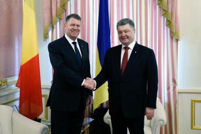 Klaus Iohannis se va întâlni cu președintele Ucrainei