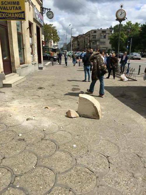 O nouă tragedie era cât pe ce să aibă loc în centrul orașului