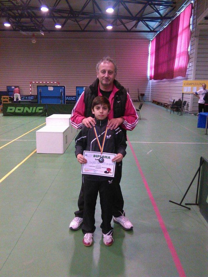 Careianul Paul Szilagyi, vicecampion național la tenis de masă