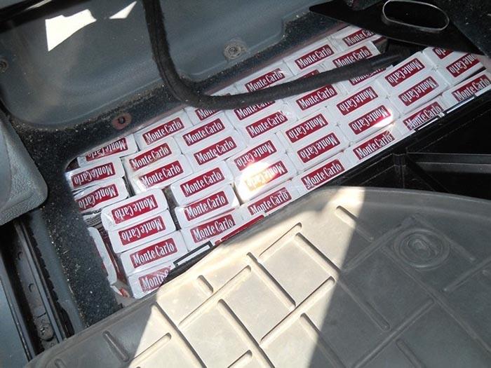 A rămas fără mașină pentru 180 de pachete de țigări