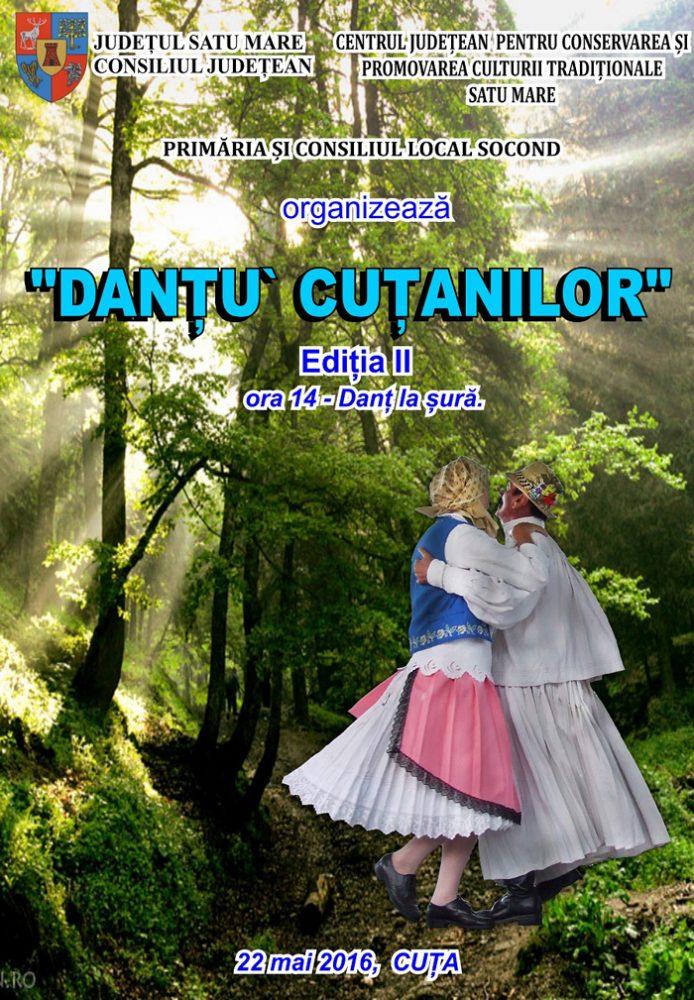 """""""Danțu' cuțanilor"""", la a II-a ediție"""